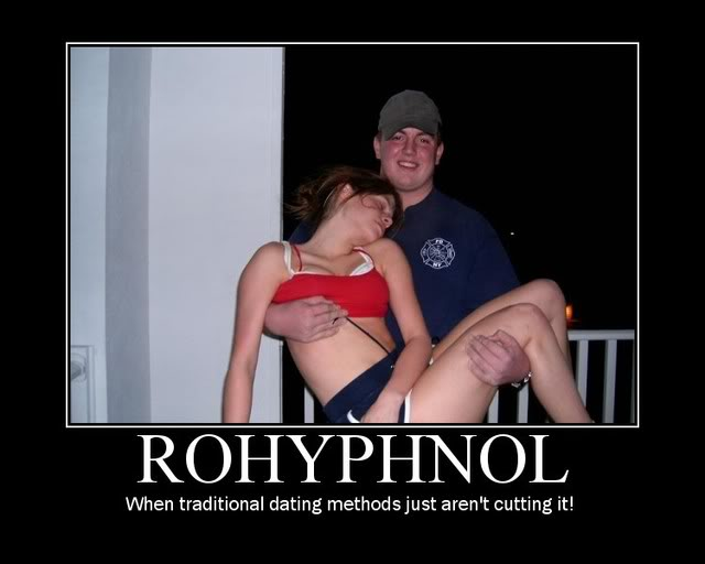 Did you just say Rohypnol? (1/3)